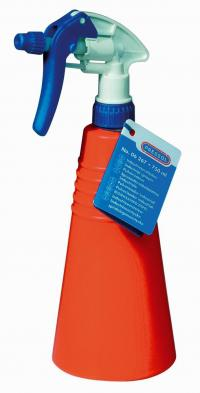 Industrial spray dispenser, 750 ml, PE, orange, plastic nozzle