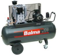 Compressor 100l, 230V, 10bar, 340 l/min, pump V type