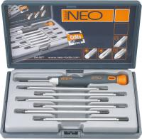 Precision screwdriver set 14 pcs NEO