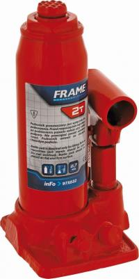 Hydraulic bottle jack 2t, to 116mm, 2,5kg