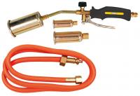Brazing kit three torches: 25, 35, 50mm, hose 1,5m