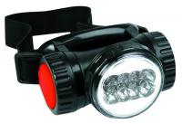 Lukturis, 8 led un 4 AA batteries