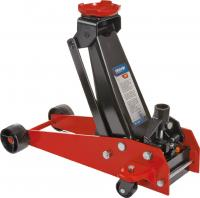 Hydraulic floor jack 3t, lift range 145-520mm, mass net 39kg