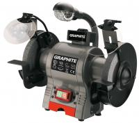 Smirģelis 370W, 230V, blade 150mm, speed 3450 r.p.m
