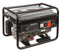 Petrol generator, max power 2300W, rated power 2000W, system AVR, tank 15l, output 230V, 12V, speed