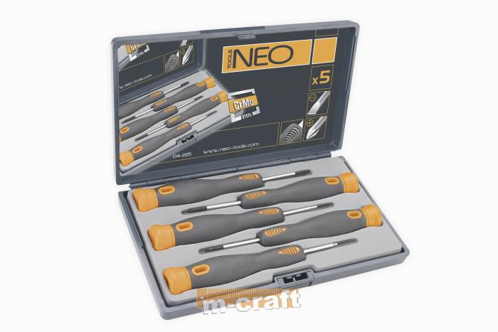 Precision screwdriver set 5 pcs NEO