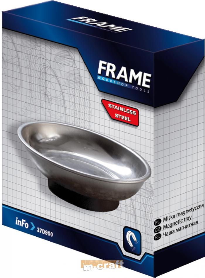 Magnetic tray 245 x 145 mm, stainles steel