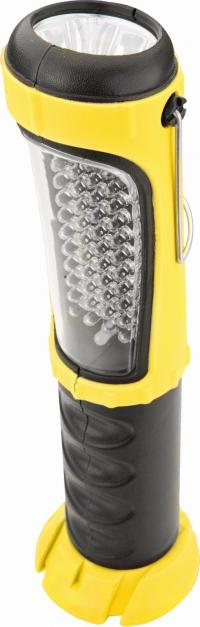 Lampa, 12 V, 48 LED,   auto ladetajs
