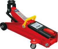 Hydraulic floor jack 2t, lift range 130-345mm, mass net 9,5kg