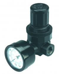 Pressure regulator for spray gun - 1/4