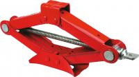 Scissors jack 1t, lifting range 90-383mm, mass net 2,5kg