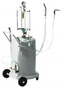 Waist oil extraction unit with control container - Venturi system 70 l