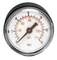Manometer wit rear connection 1/4